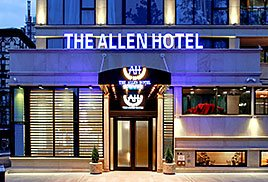 The Allen Hotel Outside Hotel